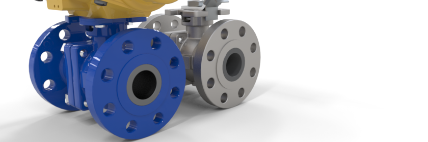 Ceramic ball valves, ceramic 3-way valves, Cosmix ceramic valve